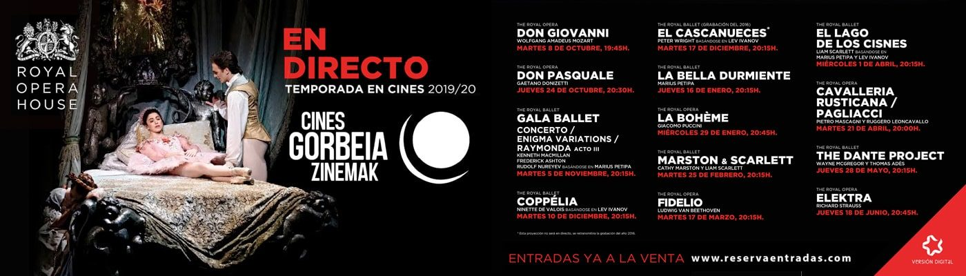 Programa Opera y ballet